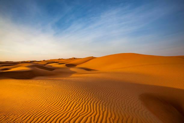 sand dune wave pattern desert landscape, oman:スマホ壁紙(壁紙.com)