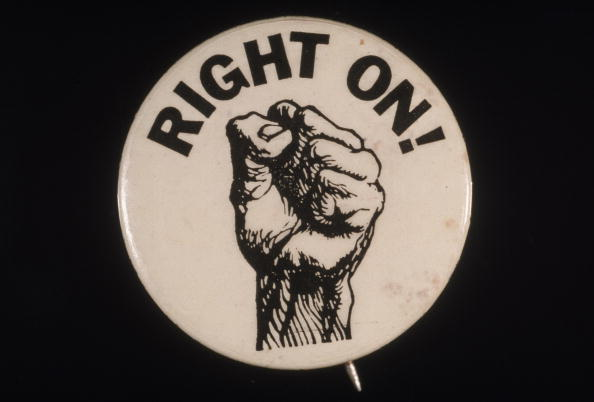 Social Movement「'Right On!' Black Power Button」:写真・画像(15)[壁紙.com]