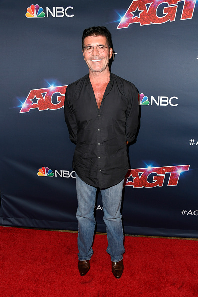 "Simon Cowell「""America's Got Talent"" Season 14 Live Show Red Carpet」:写真・画像(14)[壁紙.com]"