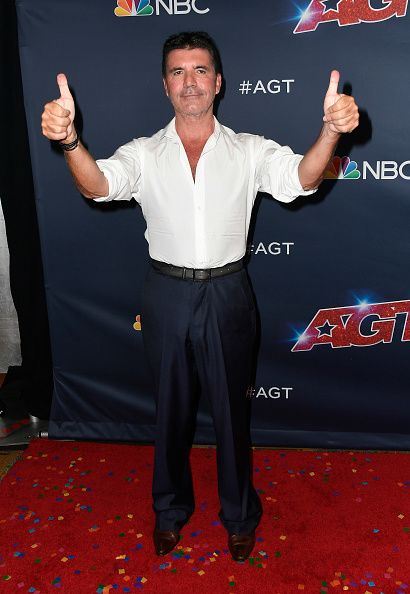 "Simon Cowell「""America's Got Talent"" Season 14 Finale Red Carpet」:写真・画像(7)[壁紙.com]"