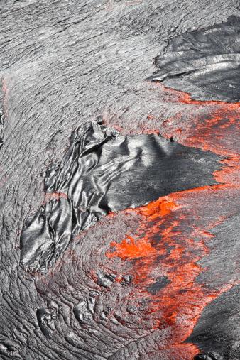 Basalt「February 8, 2008 - Lava flowing out of active lava lake, Erta Ale volcano, Danakil Depression, Ethiopia.」:スマホ壁紙(4)