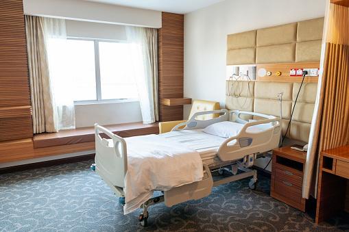 Cable「Empty hospital bed on ward」:スマホ壁紙(19)