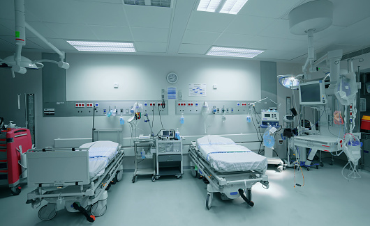 Healing「Empty hospital ward」:スマホ壁紙(16)