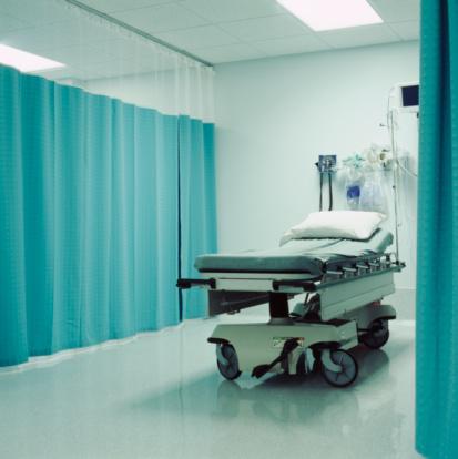 Curtain「Empty hospital bed」:スマホ壁紙(15)