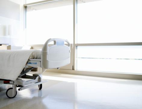 Healing「Empty hospital bed」:スマホ壁紙(3)
