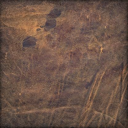 Grooved「Hi-Res Animal Skin - Antique Veal Leather Grunge Texture」:スマホ壁紙(8)