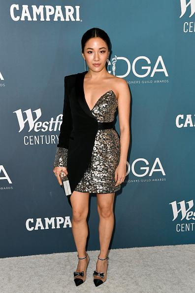 Two-Toned Dress「22nd Costume Designers Guild Awards - Arrivals」:写真・画像(11)[壁紙.com]