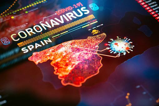 Biology「Coronavirus Outbreak in Spain」:スマホ壁紙(11)