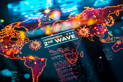 Rock Music「Coronavirus Second Wave」:スマホ壁紙(12)