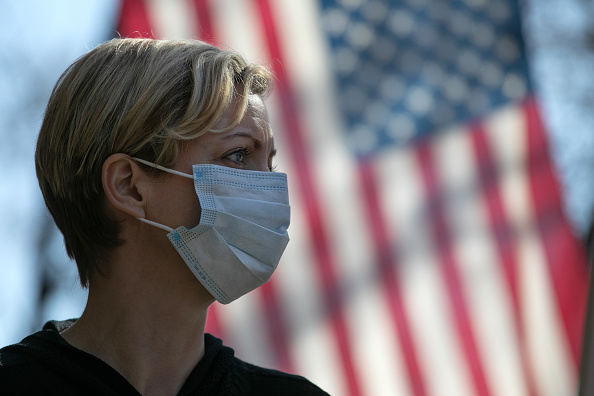 USA「Coronavirus Pandemic Causes Climate Of Anxiety And Changing Routines In America」:写真・画像(4)[壁紙.com]