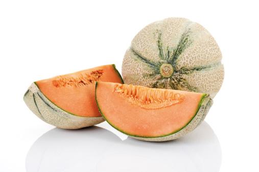 メロン「'Cantaloupes, close-up'」:スマホ壁紙(9)