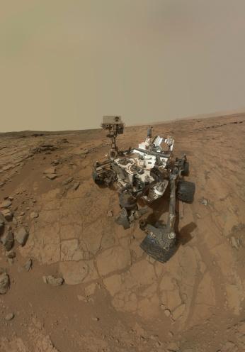 好奇心「Self-portrait of Curiosity rover on the surface of Mars.」:スマホ壁紙(18)