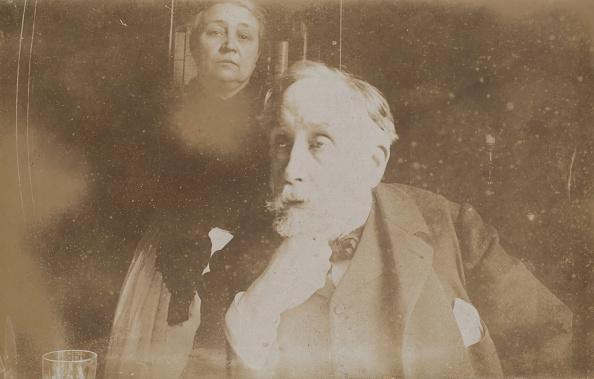 Edgar Degas「Self-Portrait With Zo� Closier」:写真・画像(0)[壁紙.com]