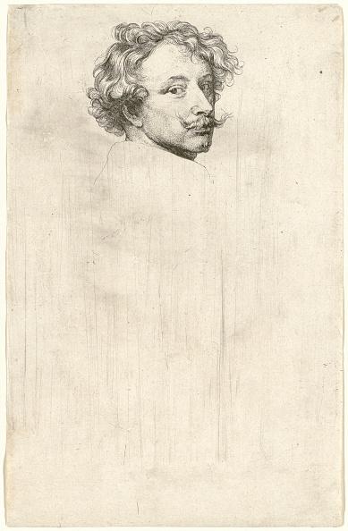 Sir Anthony Van Dyck「Self-Portrait」:写真・画像(5)[壁紙.com]