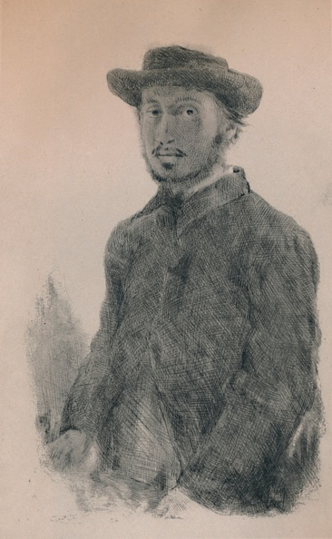 Edgar Degas「Self-Portrait Circa 1860s」:写真・画像(10)[壁紙.com]