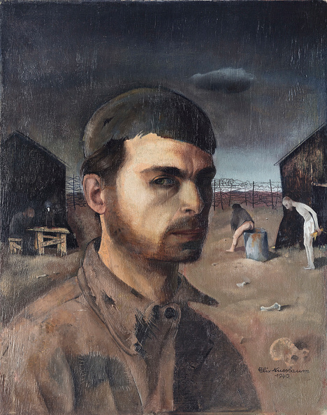 Painted Image「Self-Portrait In The Camp」:写真・画像(5)[壁紙.com]