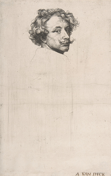 Sir Anthony Van Dyck「Self-Portrait」:写真・画像(2)[壁紙.com]