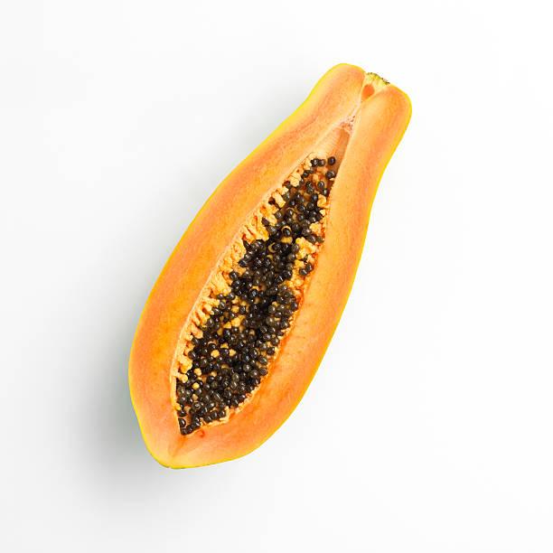 Halved papaya:スマホ壁紙(壁紙.com)
