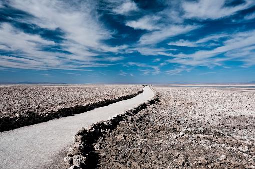 cloud「Pathway of Laguna Chaxa outside of San Pedro de Atacama, Chile」:スマホ壁紙(18)
