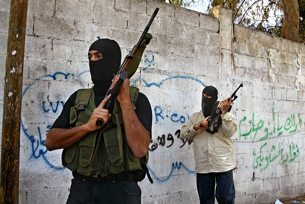 Hamas「Palestinian Police Arrest Gunmen Who Stormed Palestinian Health Ministry」:写真・画像(5)[壁紙.com]