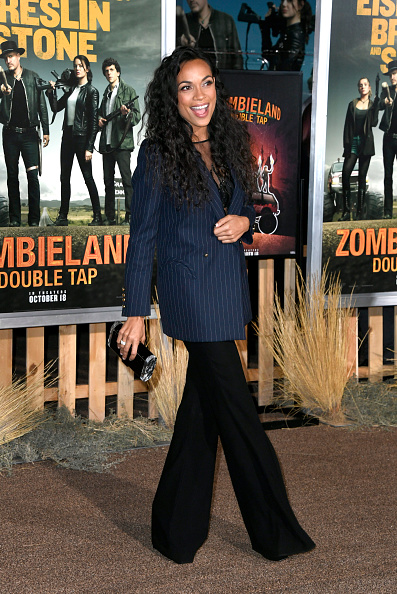 "Leather Purse「Premiere Of Sony Pictures' ""Zombieland Double Tap"" - Arrivals」:写真・画像(8)[壁紙.com]"