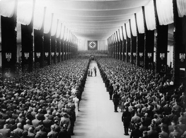 Third Reich「Nuremberg Rally (Reichsparteitag), Nuremberg, Photograph, 1934」:写真・画像(3)[壁紙.com]