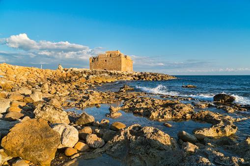 Ancient Civilization「Paphos Castle, harbour, tourist area,  sea front,  Cyprus」:スマホ壁紙(8)