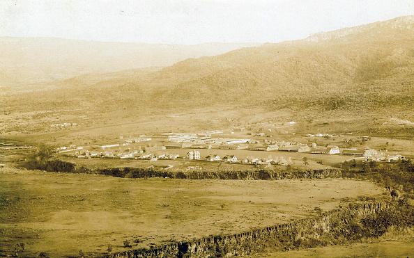 1870-1879「Bird's-Eye View Of Fort Apache」:写真・画像(1)[壁紙.com]