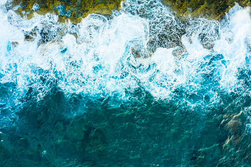 Algae「A bird's-eye view of the wave.Powerful wave. Viewpoint from directly above.」:スマホ壁紙(18)