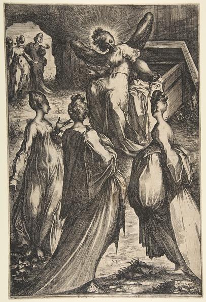 Etching「Three Marys At The Tomb Creator: Jacques Bellange」:写真・画像(1)[壁紙.com]