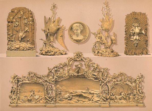 Alexandra Queen「Wood Carvings 1893」:写真・画像(14)[壁紙.com]