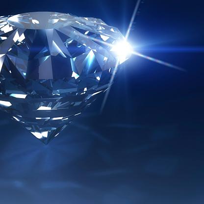 結婚「ダークブルーダイヤモンド」:スマホ壁紙(18)