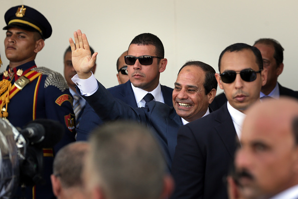 Egypt「Major Expansion Of Suez Canal Opens In Egypt」:写真・画像(2)[壁紙.com]