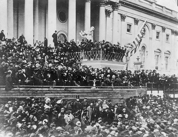 Presidential Inauguration「Lincoln Speaking」:写真・画像(2)[壁紙.com]