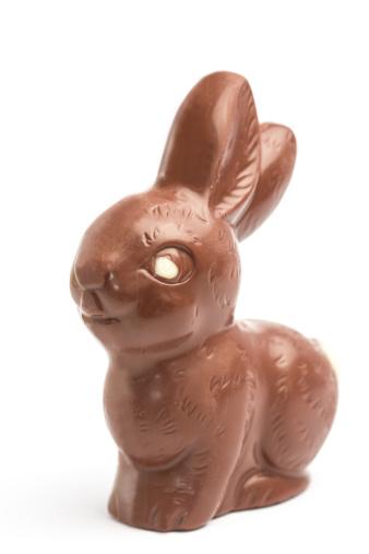 Easter Bunny「Chocolate bunny with white chocolate eye」:スマホ壁紙(4)