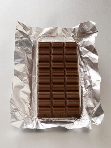 Milk Chocolate「Chocolate bar and wrapper」:スマホ壁紙(15)