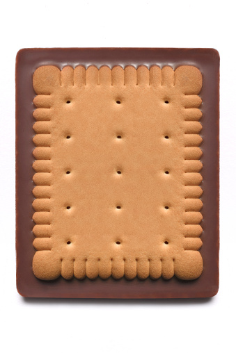 Biscuit「Chocolate biscuit/cookie with copy space」:スマホ壁紙(14)