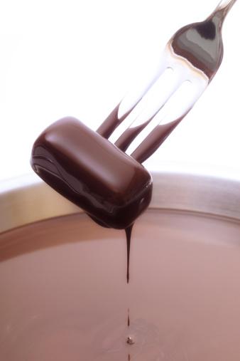 Multiple Exposure「Chocolate block dipped into chocolate sauce」:スマホ壁紙(14)
