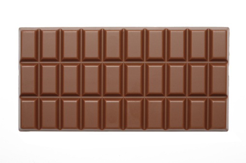 Rectangle「Chocolate Bar with path」:スマホ壁紙(5)