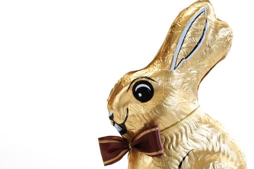 Easter「Chocolate bunny, close-up」:スマホ壁紙(11)