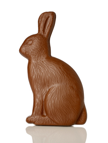 Easter「Chocolate bunny」:スマホ壁紙(10)