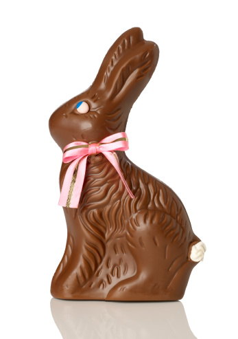 Easter「Chocolate bunny」:スマホ壁紙(18)