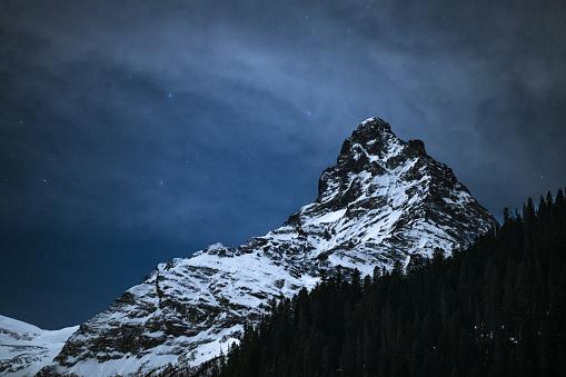Solar System「Mountain peak in twilight」:スマホ壁紙(7)