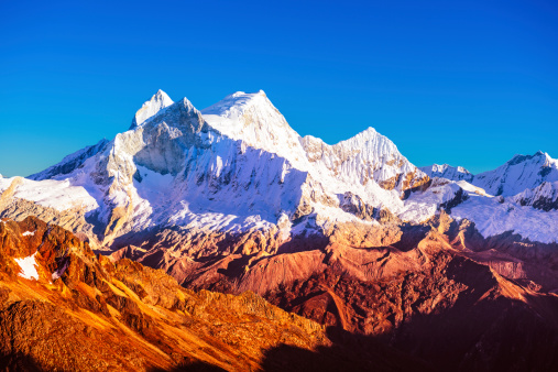 Andes「mountain peak at sunset」:スマホ壁紙(0)