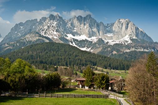 Kaiser Mountains「Mountain Peaks Wilder Kaiser」:スマホ壁紙(12)