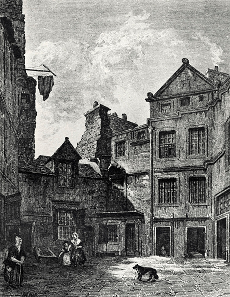 18th Century「David Hume - Riddle's Close, Edinburgh, where the Scottish philosopher, economist and historian lived for a while.」:写真・画像(2)[壁紙.com]