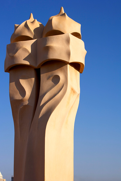 Carving - Craft Product「View of a detail of the exterior of Casa Mila」:写真・画像(15)[壁紙.com]