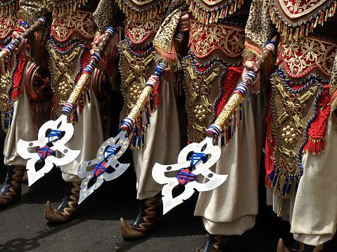 Moorish「Costumes at a Moors and Christians Parade, Spain」:スマホ壁紙(5)
