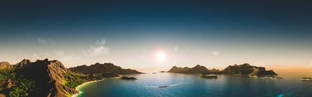Majestic Exotic Landscape at Sunset:スマホ壁紙(壁紙.com)