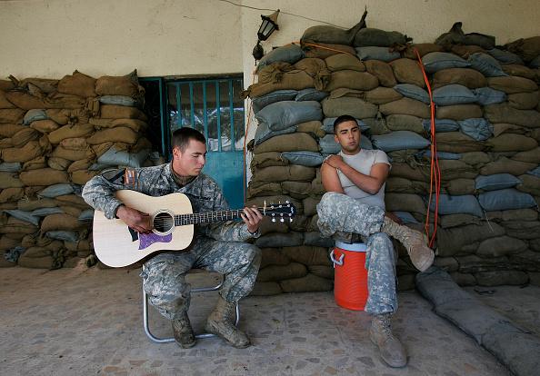 Baghdad「U.S. Troops Live And Work In Dangerous Baghdad Neighborhood」:写真・画像(10)[壁紙.com]